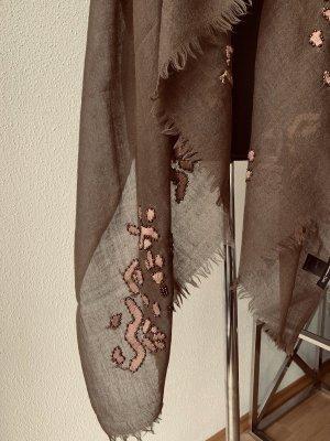 Massimo Dutti Woolen Scarf multicolored