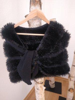 keine Écharpe en laine noir