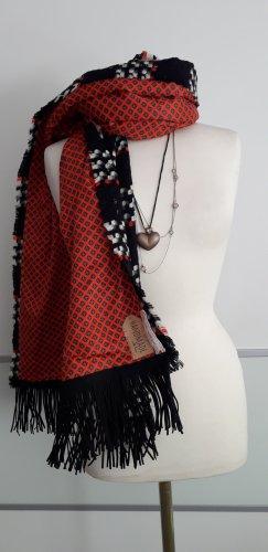 Handmade Bufanda de lana multicolor