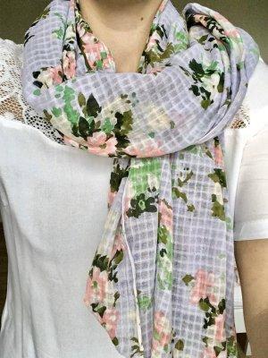 Schal mit Blumenprint