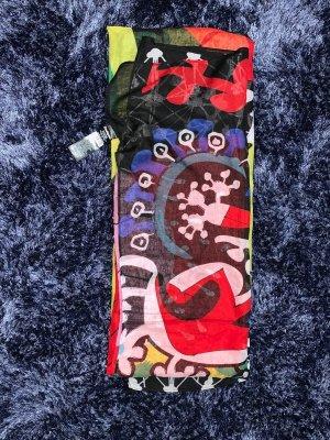 Schal mit bunten Muster