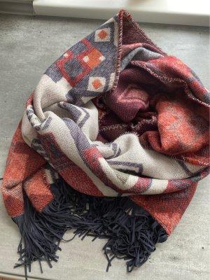 s.Oliver Écharpe en laine multicolore