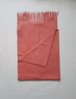 C&A Fringed Scarf apricot-salmon