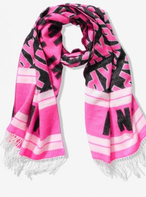 Schal mit Fransen von Victoria's Secret Pink