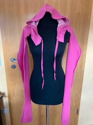 Pink Victoria's Secret Chaqueta de tela de sudadera multicolor Algodón