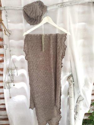 Schal mit Mütze *NEU* Wolle