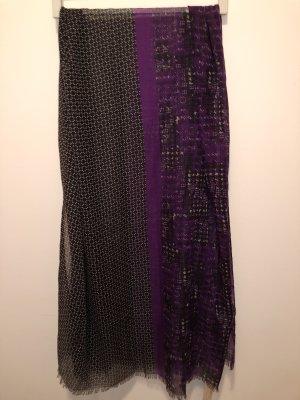 Charles Vögele Chal veraniego negro-violeta oscuro