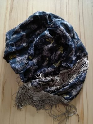 C&A Fringed Scarf multicolored
