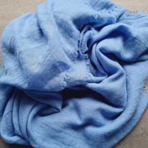 Woolen Scarf neon blue