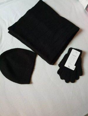 Schal -Mütze Set
