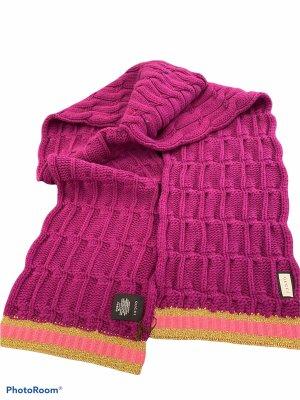 Gucci Écharpe en laine rouge framboise