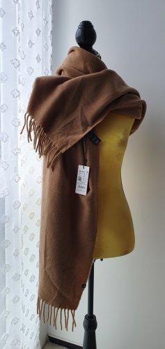 Marc O'Polo Wollen sjaal zandig bruin Wol