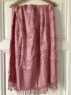 Olister Luxury Shawls Pashmina rosa