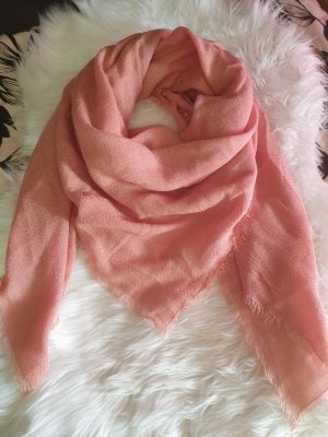 Only Fringed Scarf pink