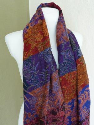 Pashmina multicolor tejido mezclado