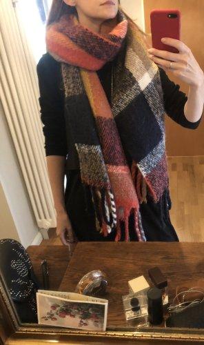 Pieces Écharpe en tricot multicolore