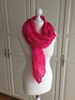 Hallhuber Zomersjaal magenta-roze