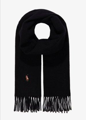 Polo Club Bufanda de lana negro