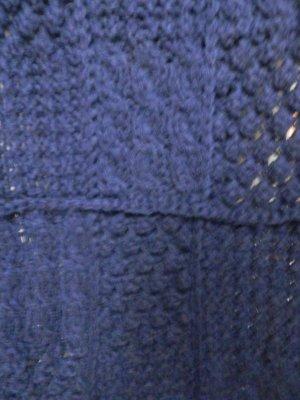 Roeckl Bufanda de punto violeta oscuro Lana