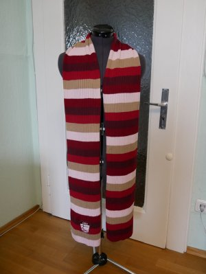 Cecil Écharpe en laine multicolore coton