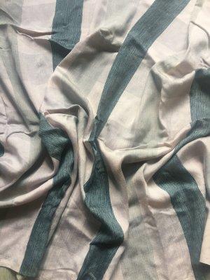 Schal rosa grün/blau schwarz kariert TOP