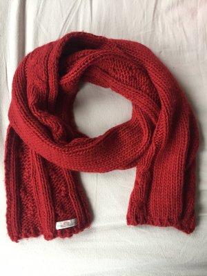s.Oliver Écharpe en tricot rouge carmin