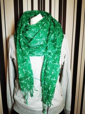 Schal s.Oliver Selection grün fein leicht