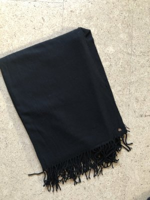 Esprit Bufanda de flecos negro