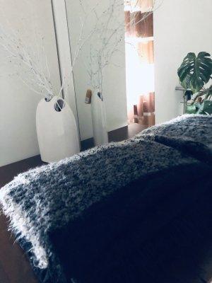 Schal schwarz grau H&M