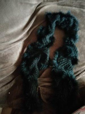 Schal schwarz neu