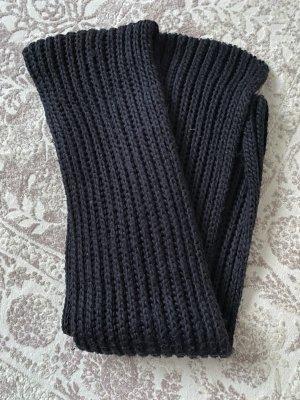 Gebreide sjaal zwart