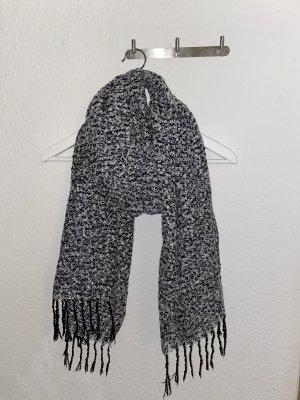 Tubesjaal wit-zwart