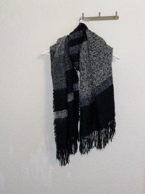 Schal, schwarzer Schal, Accessoires