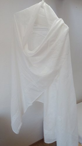 Vintage Shoulder Scarf white