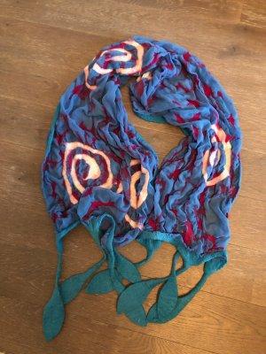Handmade Pashmina multicolore mousseline de soie