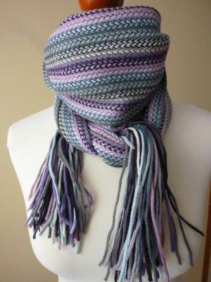 Unbekannte Marke Knitted Scarf multicolored