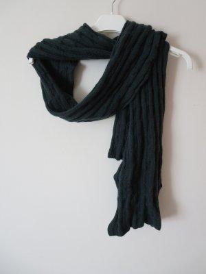 Darling Harbour Woolen Scarf dark green wool