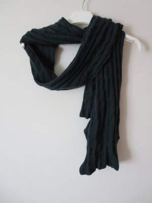 Darling Harbour Bufanda de lana verde oscuro Lana