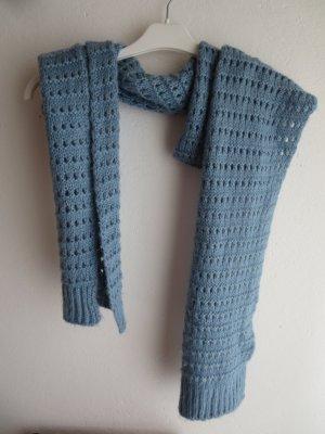 Pieces Bufanda de punto azul pálido