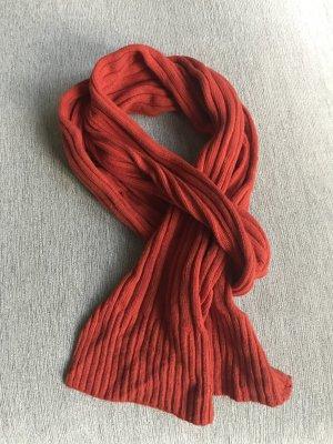 Schal Strick Rot von Codello, schön weich mit Kaschmir-Anteil