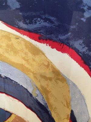H&M Bufanda de seda multicolor