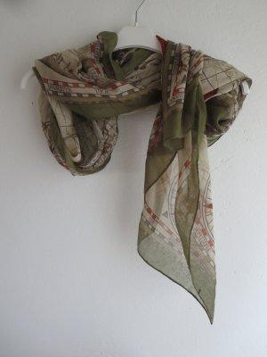 Écharpe d'été multicolore tissu mixte