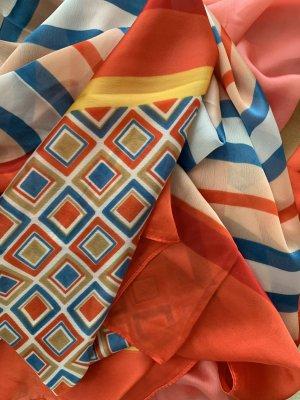 PASSION Sciarpa di seta multicolore
