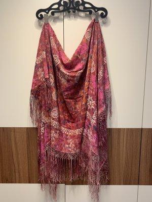 Schal Tuch rosa
