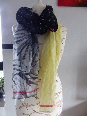 Tchibo / TCM Écharpe d'été multicolore polyester