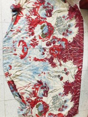 Pieces Bufanda de lana multicolor