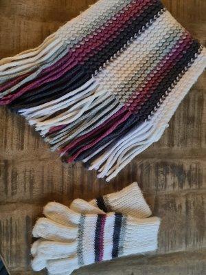 diverse Écharpe à franges multicolore