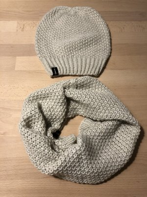Hallhuber Chapeau en tricot beige clair