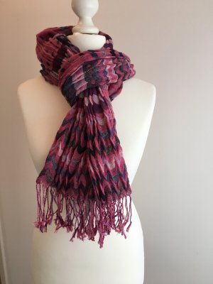 Samaya Fringed Scarf multicolored
