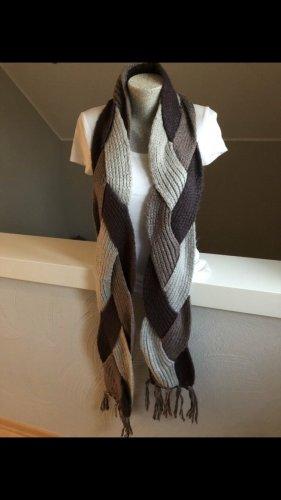 Vero Moda Bufanda de punto lila grisáceo-malva
